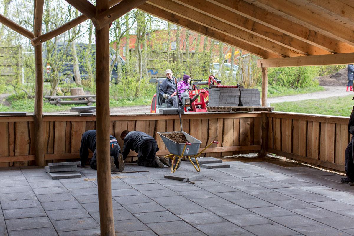 Tybjerg Privatskole - arbejdsdag